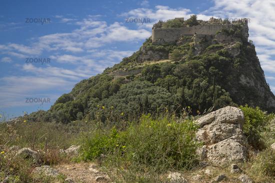 Angelokastro Castle on Corfu, Greece