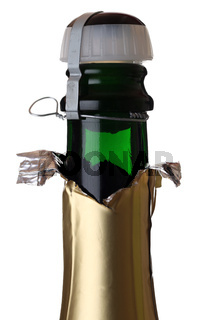 Flasche Sekt mit Korken