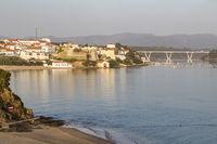 Vila Nova de Milfontes with Rio Mira, Alentejo, Portugal