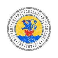 Pietarsaari city postal rubber stamp