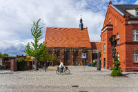 Monk's church. Juterbog is a historic town in north-eastern Germany, in the district of Brandenburg.