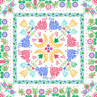 Hungarian embroidery pattern 104
