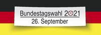 White Paper Banner Bundestagswahl 2021 Germany