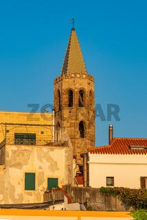 Bell tower in Alghero