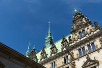 Hamburg, City Hall, Germany