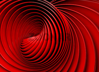 3d abstract swirl or twirl background