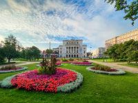 RIGA, LATVIA . Latvian national opera and ballet