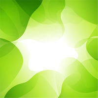 Abstract Green Background With Line