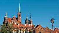 Postcard motif from Wroclaw (Breslau