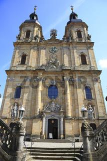 Wallfahrtsbasilika zur heiligen Dreifaltigkeit des Franziskanerklosters in Gößweinstein