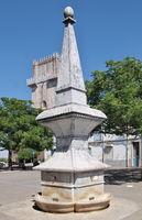 Traditional water fountain in Beja, Alentejo - Portugal