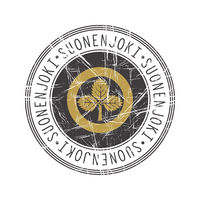 Suonenjoki city postal rubber stamp
