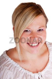 Frau im Portrait