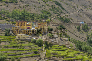 New Monastery, Dhankar, Himachal Pradesh, India