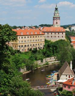 Historical Center of Cesky Krumlov, Czech Republic