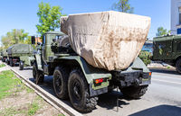 BM-21 Grad 122-mm Multiple Rocket Launcher on Ural-375D chassis