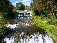 Small waterfall in Riedenburg