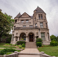 Famous Conrad Caldwell House in Louisville - LOUISVILLE. USA - JUNE 14, 2019