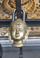 Richard-Wagner-Str., Buddha-Cylinder Lock, Neustadt-Süd, Cologne, NRW, Rhineland