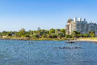 Urban Coastal Scene, Montevideo Uruguay