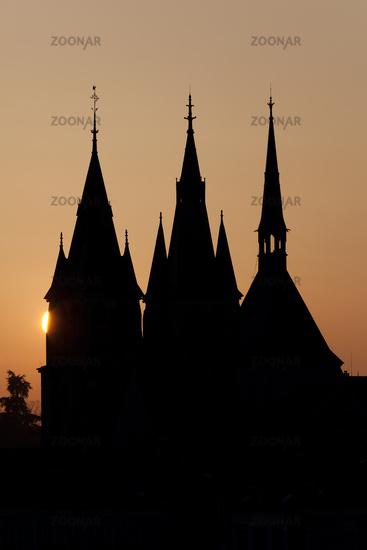 Cathedral of Blois, Loir et cher, France