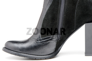 Fragment female leather shoes