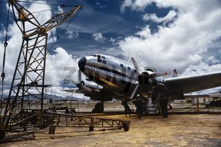 Curtiss C-46 Commando Airplane in La Paz
