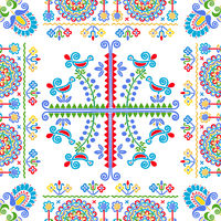 Hungarian embroidery pattern 129