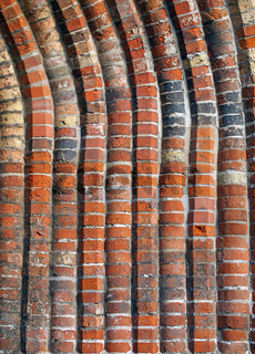 Detail gotisches Portal