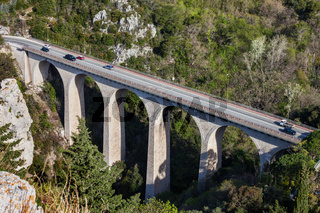 Bridge of the Devil Viaduct in France