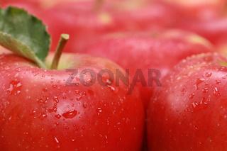Rote Äpfel