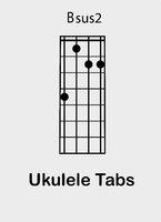 Ukulele chords B sus2
