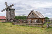 The old traditional village in kazan region