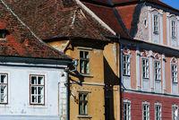 historic house front sibiu romania
