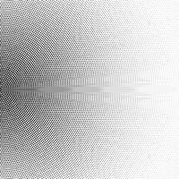 Halftone half circle made of squares