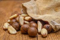 Brazil nut and macadamia