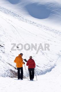 skier at Matterhorn