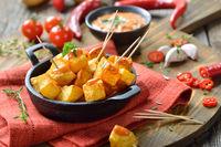 Spicy Spanish potatoes