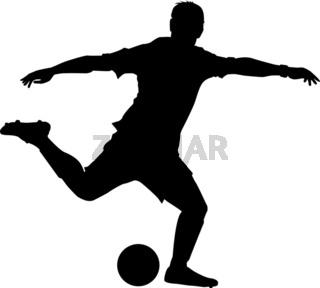 Fussball schuss