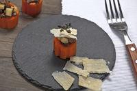 gefüllte Karotten