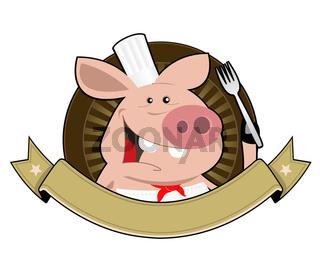 Pig Palace Banner