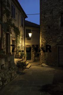 Sassetta Tuscan village in the province of Livorno