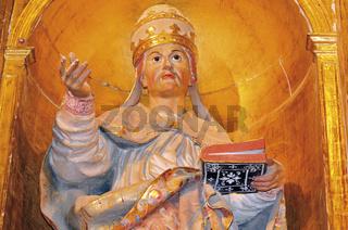 Spanien: Detail Hauptaltar des Klosters San Zoilo