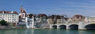 Stadtansicht von Basel in der Schweiz