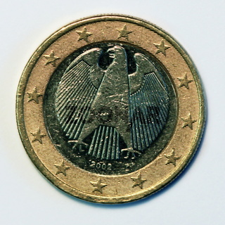 DEUTSCHE EIN-EURO-MUENZE