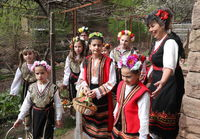Lazarki day is a Bulgarian traditional festive day.