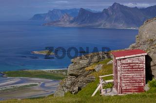 Norwegian panorama on Lofoten