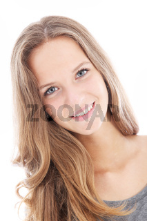 Pretty friendly teenager