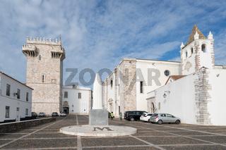 Estremoz castle in Alentejo, Portugal