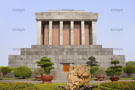 Ho Chi Minh Mausoleum, Hanoi, Vietnam, Asia